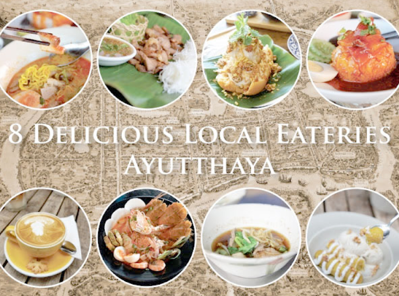 8 Delicious Local Eateries in Ayutthaya, Thailand